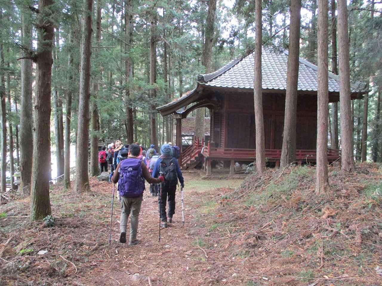 画像10: 12月10日に山旅会 深高山から石尊山 ツアーに行ってきました!