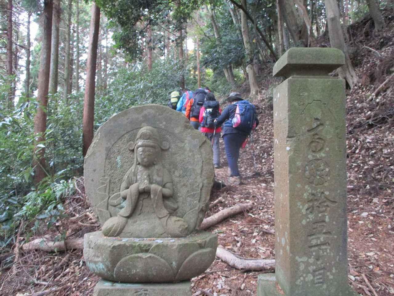 画像4: 12月13日に岡田ガイドのコースで 鐘ヶ岳 へ行ってきました♪
