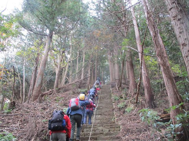 画像9: 12月13日に岡田ガイドのコースで 鐘ヶ岳 へ行ってきました♪