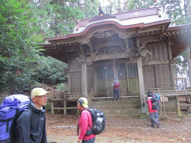 画像3: 12月13日に岡田ガイドのコースで 鐘ヶ岳 ツアーに行ってきました!