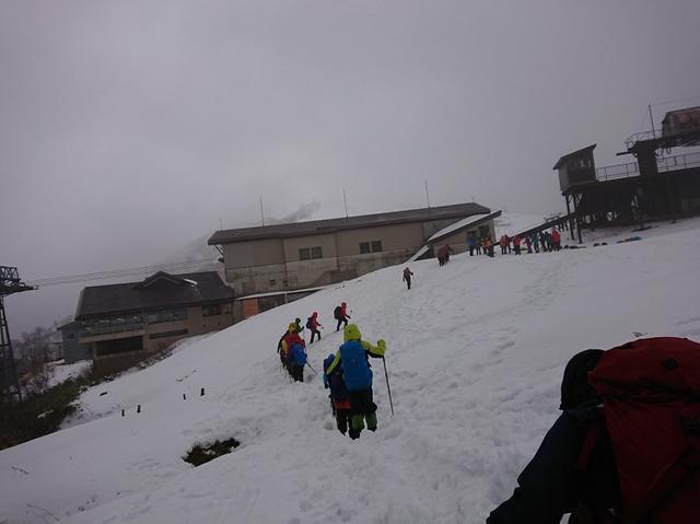 画像5: 登山ツアー添乗員の雪山研修にいってきました!