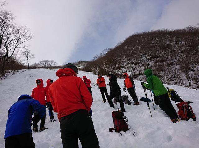 画像2: 登山ツアー添乗員の雪山研修にいってきました!