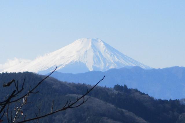 画像5: 1月3日と4日に山旅会現地集合 「駒木野から八王子城址」 ツアーに行ってきました!