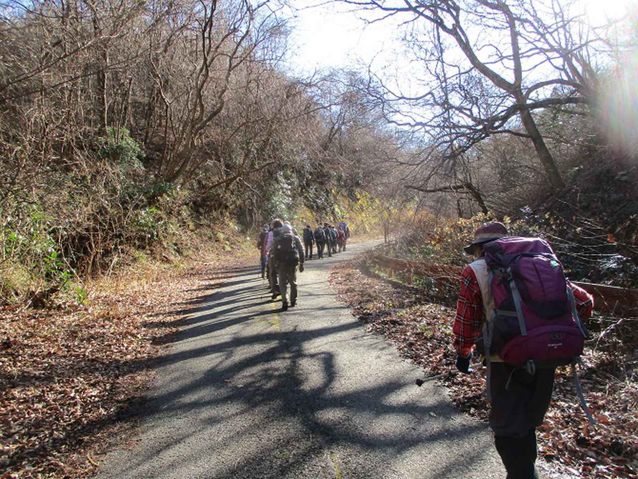 画像1: 1月10日に山旅会 神峰山から鞍掛山 ツアーに行ってきました!