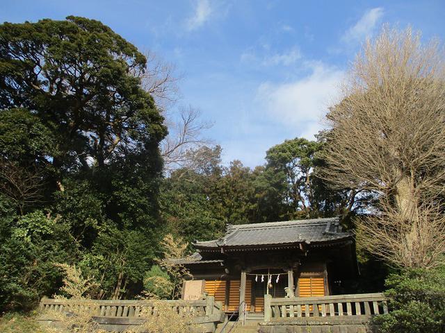 画像3: 1月11日に山旅会現地集合 阿部倉山から二子山 ツアーに行ってきました!