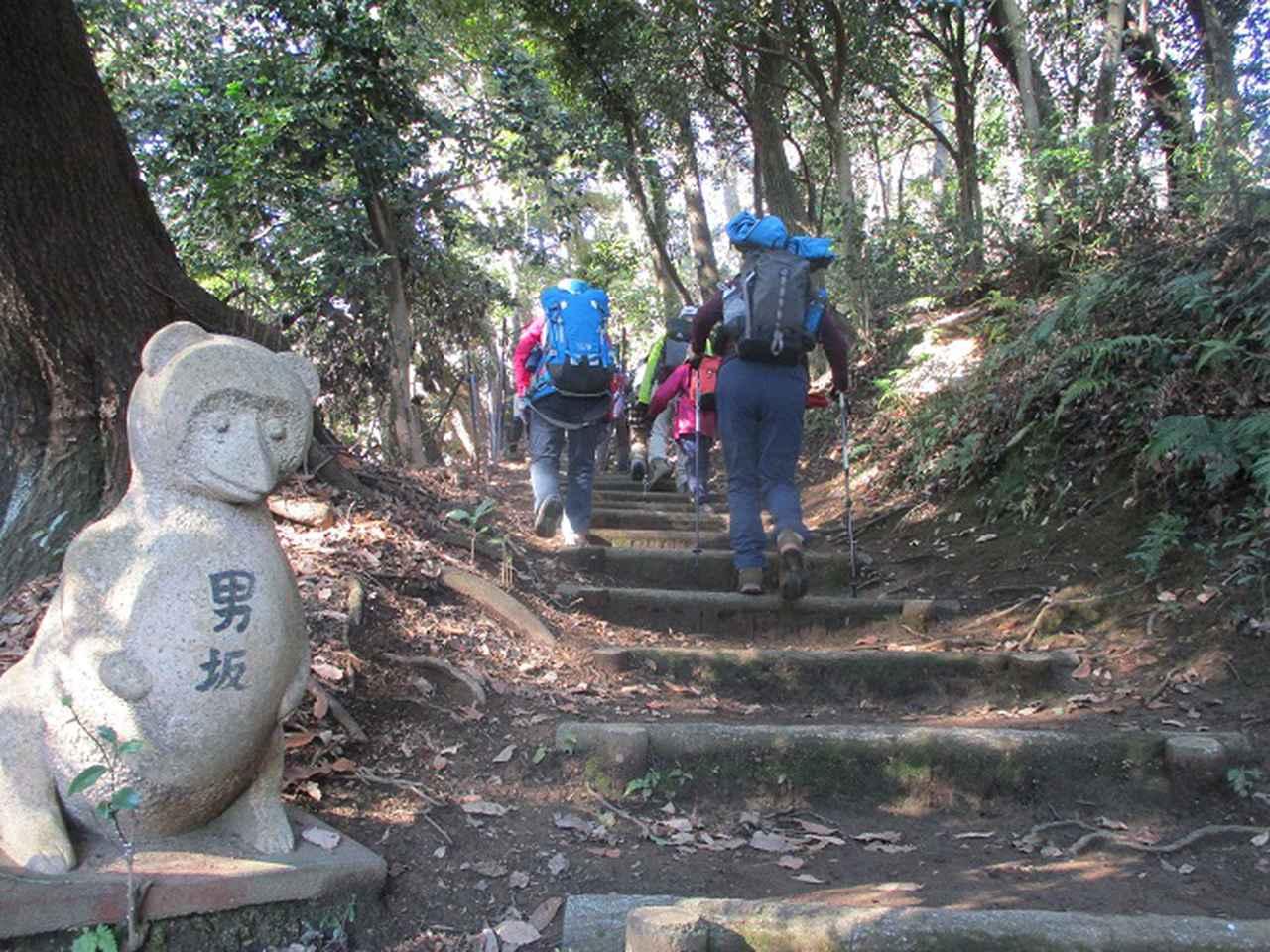 画像4: 1月21日に岡田ガイドのコースで 丹沢白山 へ行ってきました♪