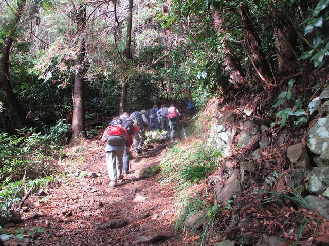画像5: 1月24日に山旅会 満観峰 ツアーに行ってきました!