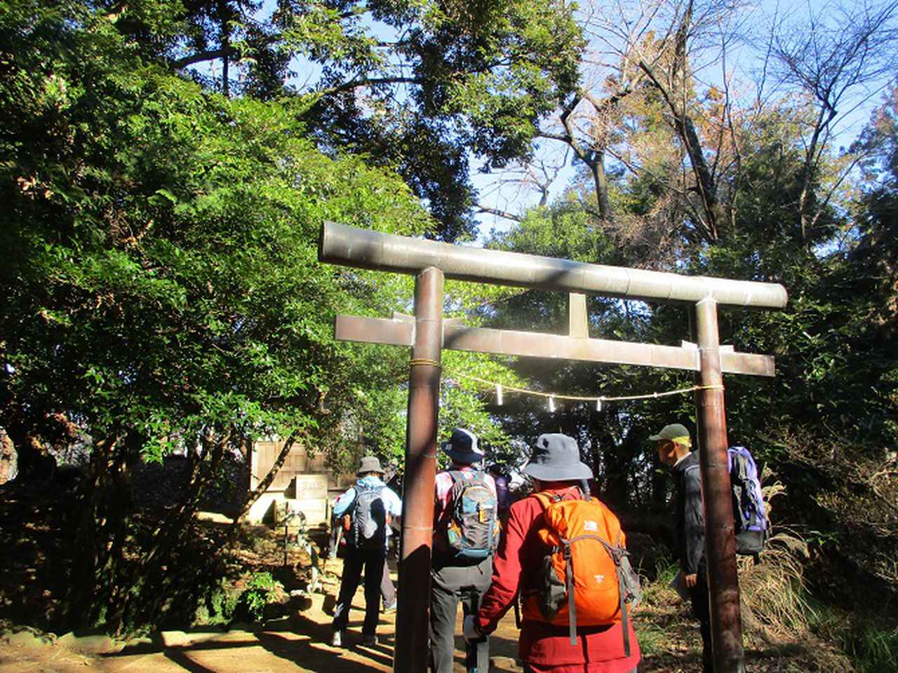 画像3: 2月5日に山旅会 丹沢白山 ツアーに行ってきました!