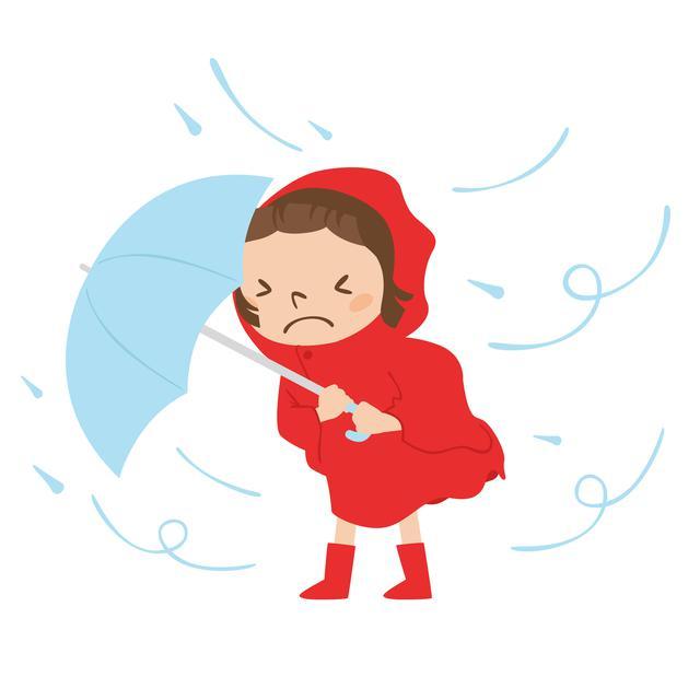 画像: 雨・風の強い山では、不十分な装備だとすぐに濡れてしまいます