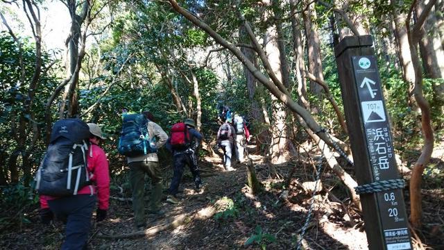 画像3: 2月11日に宮下ガイドのコースで 浜石岳 へ行って来ました♪