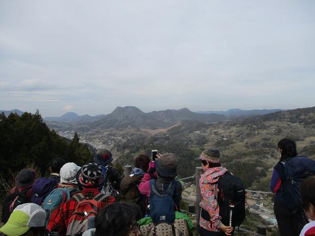 画像4: 2月12日に岡田ガイドのコースで千葉の 御殿山 へ行ってきました♪