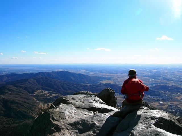 画像1: 山頂からの絶景