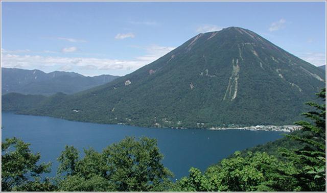 画像: 男体山