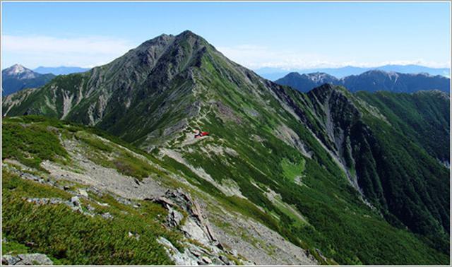 画像: 北岳
