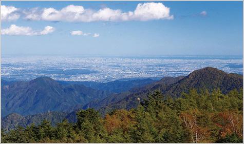 画像: 雲取山