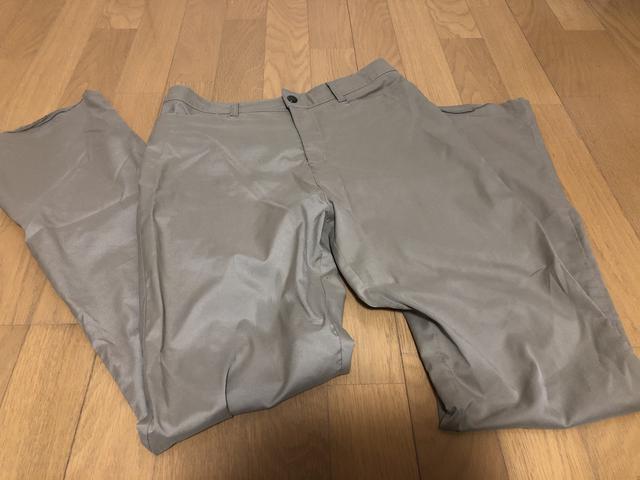 画像: ズボンもポリエステル製のものがオススメ
