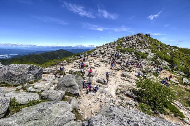 画像: 山頂付近の様子