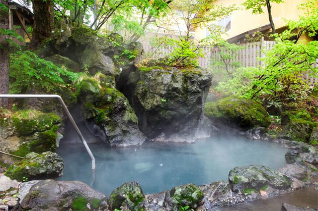 画像: 駒ヶ岳グランドホテル・露天風呂(イメージ)