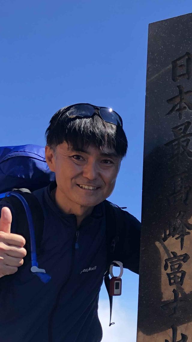 画像: 君塚 浩一ガイド 某大手登山用品店で経験を積み今は、整体師・某メーカーのショップ店員・山旅スクール専属ガイドという多彩に活動中。