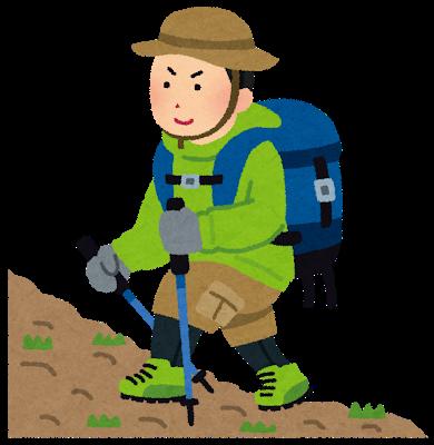画像: 登山者(イメージ)