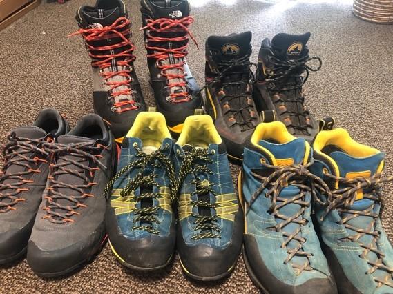 画像: 登山靴(イメージ)