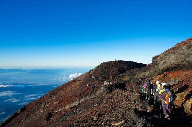 画像: 日本最高峰・富士山山頂