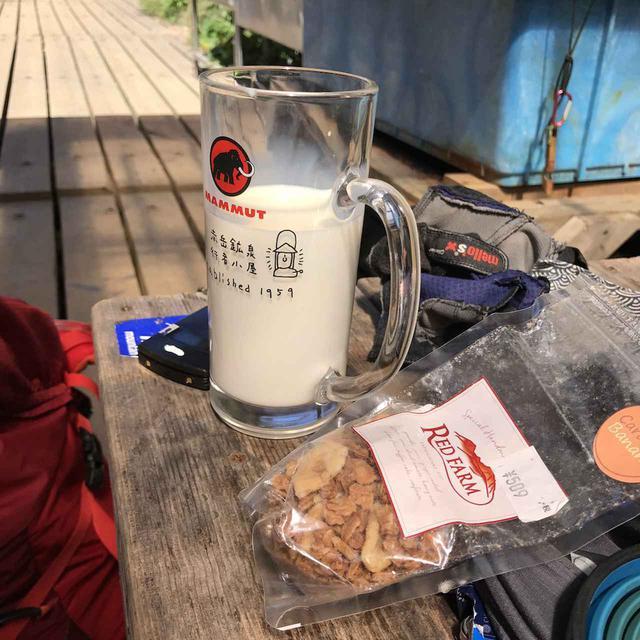画像: 牛乳はタンパク質も豊富な水分です!