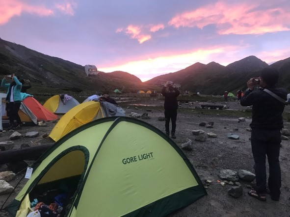画像: テント泊は素晴らしい!