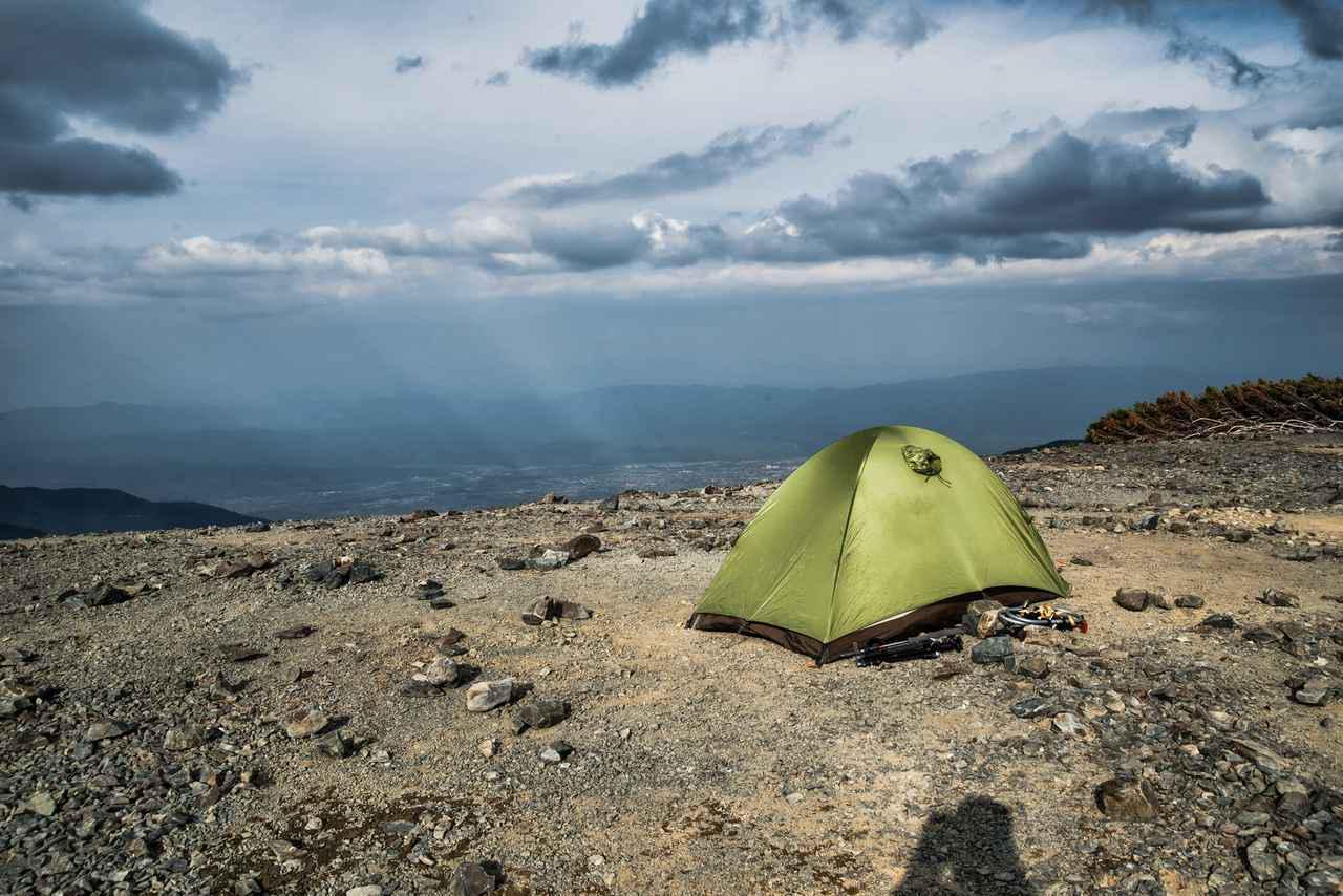 画像: テント泊の奥深さ
