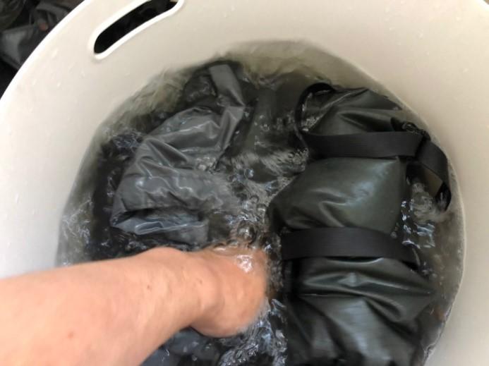 画像1: 洗濯編(押し洗い)