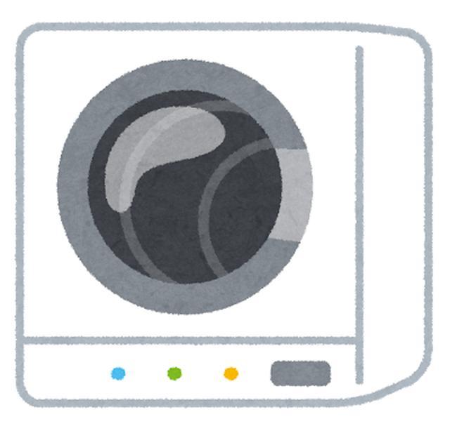 画像: 乾燥機を使用する