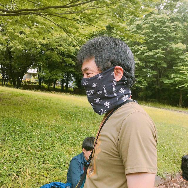画像: 意外と簡単!~アウトドアフェイスガードをマスクに進化!~