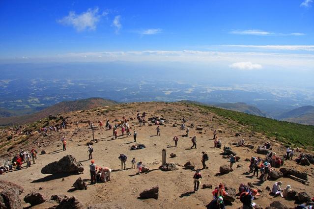 画像: 安達太良山