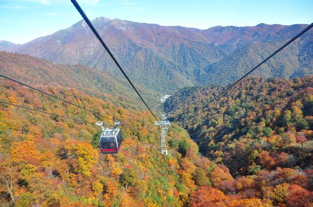 画像: ロープウェイなどを利用することで簡単に登頂できる山も多いです