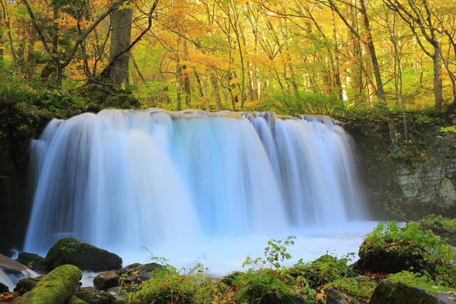 画像: 銚子大滝・ダイナミックな水の流れ(イメージ)