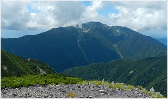 画像: 仙丈ヶ岳【せんじょうがたけ】