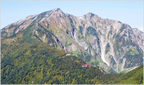 画像: 鹿島槍ヶ岳【かしまやりがたけ】