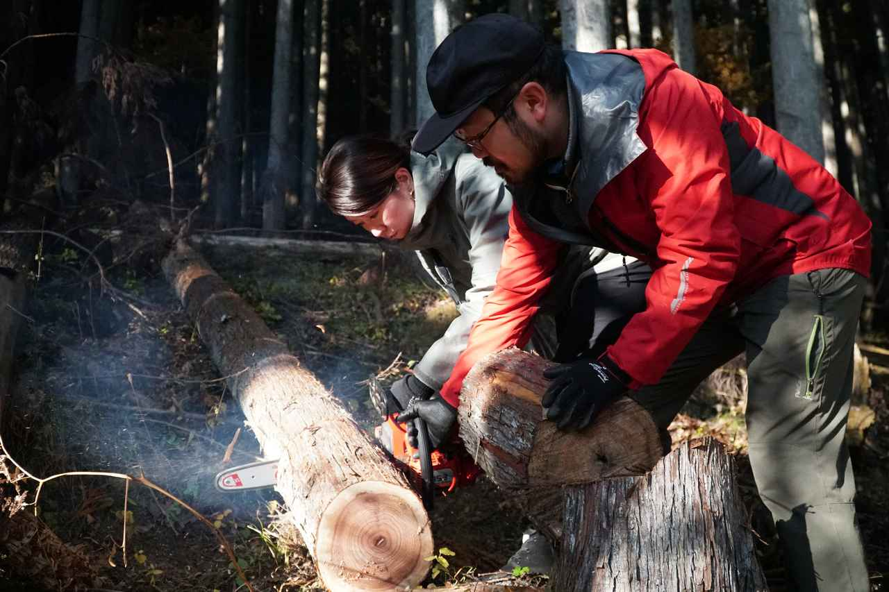 画像: 秩父の林業を学び、マイ箸を作る