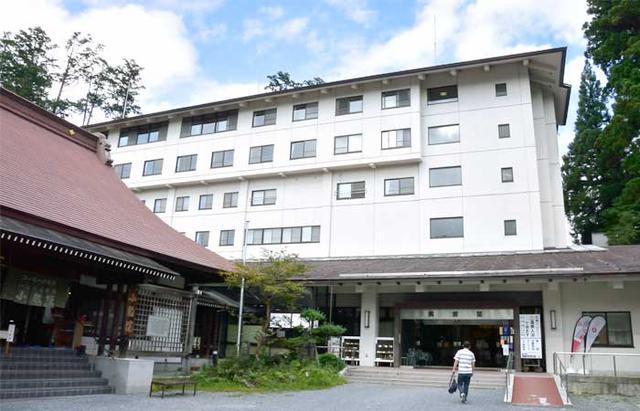画像: 宿泊は三峯神社の宿坊「興雲閣」