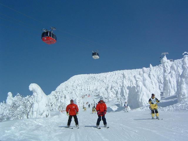 画像: 蔵王温泉スキー場