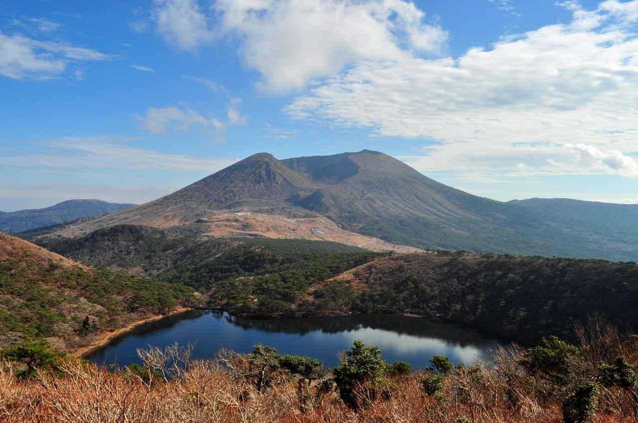 画像: 霧島連山のトレッキング