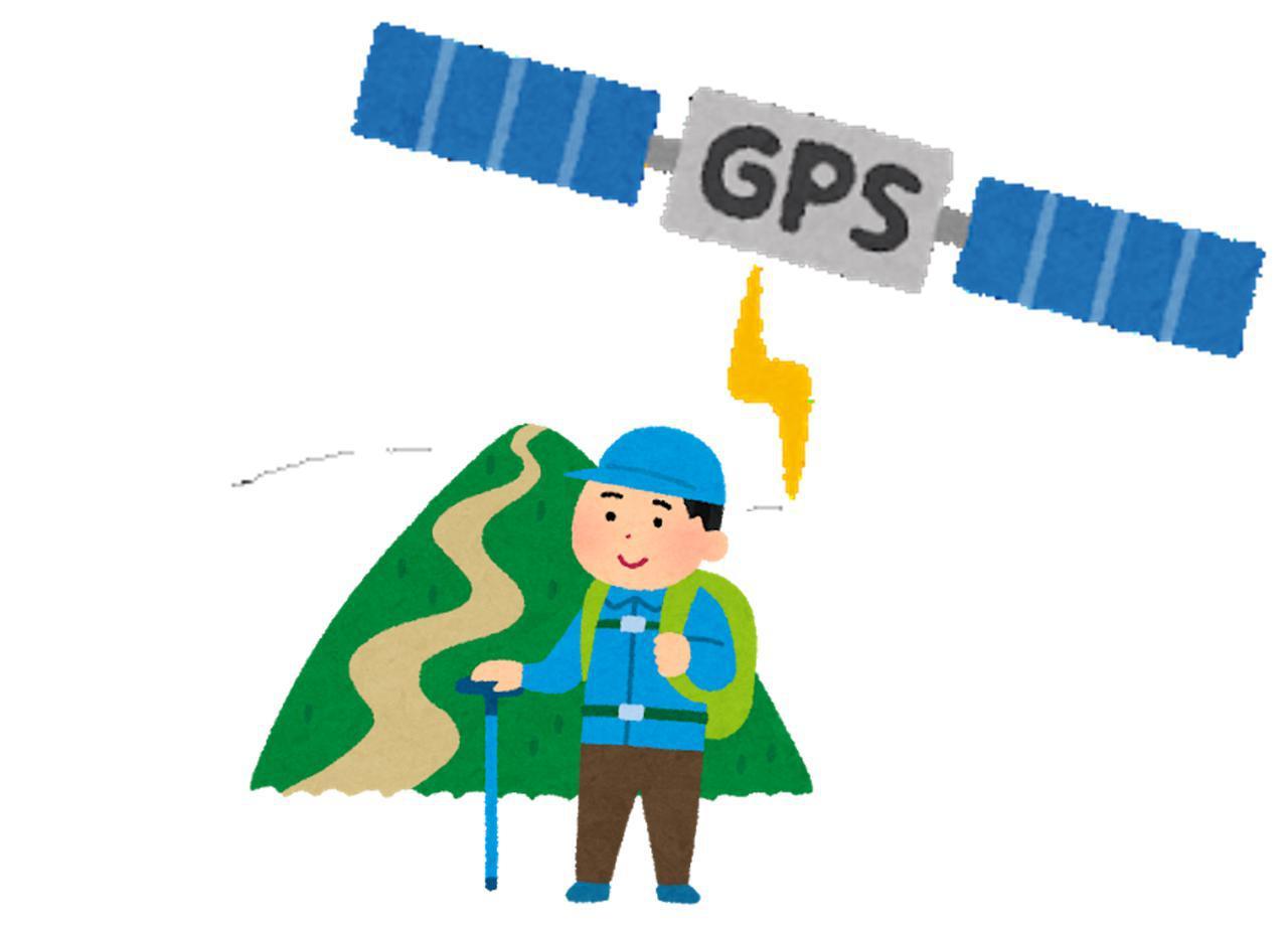 画像: GPSの精度について
