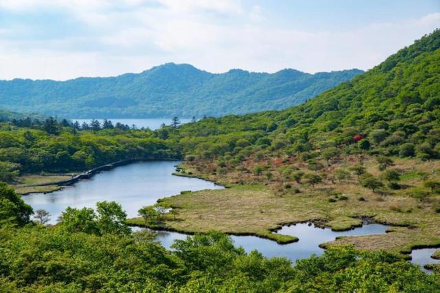 画像: 小尾瀬と呼ばれる花咲く湿原・覚満淵