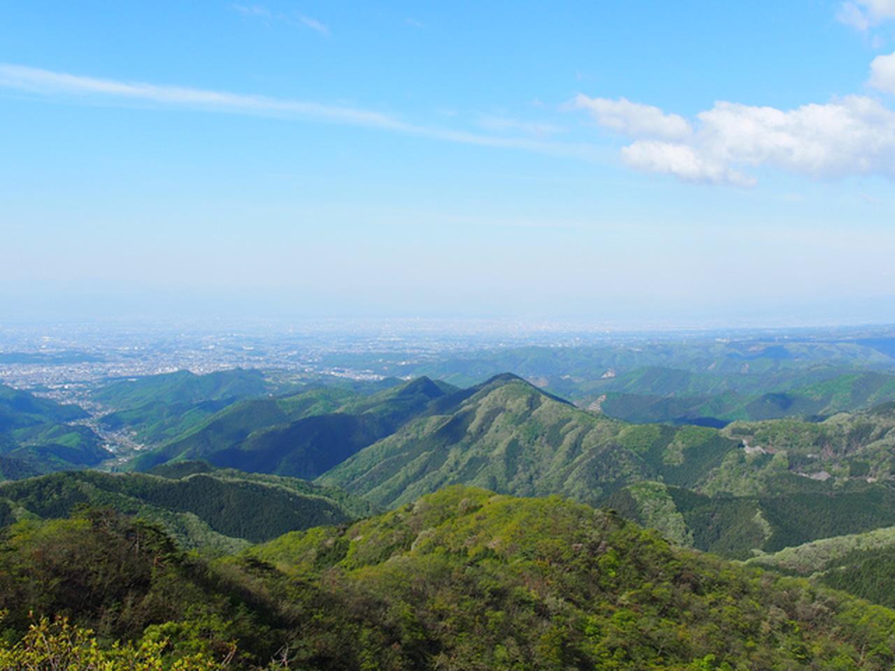 画像: 鳴神山山頂の展望