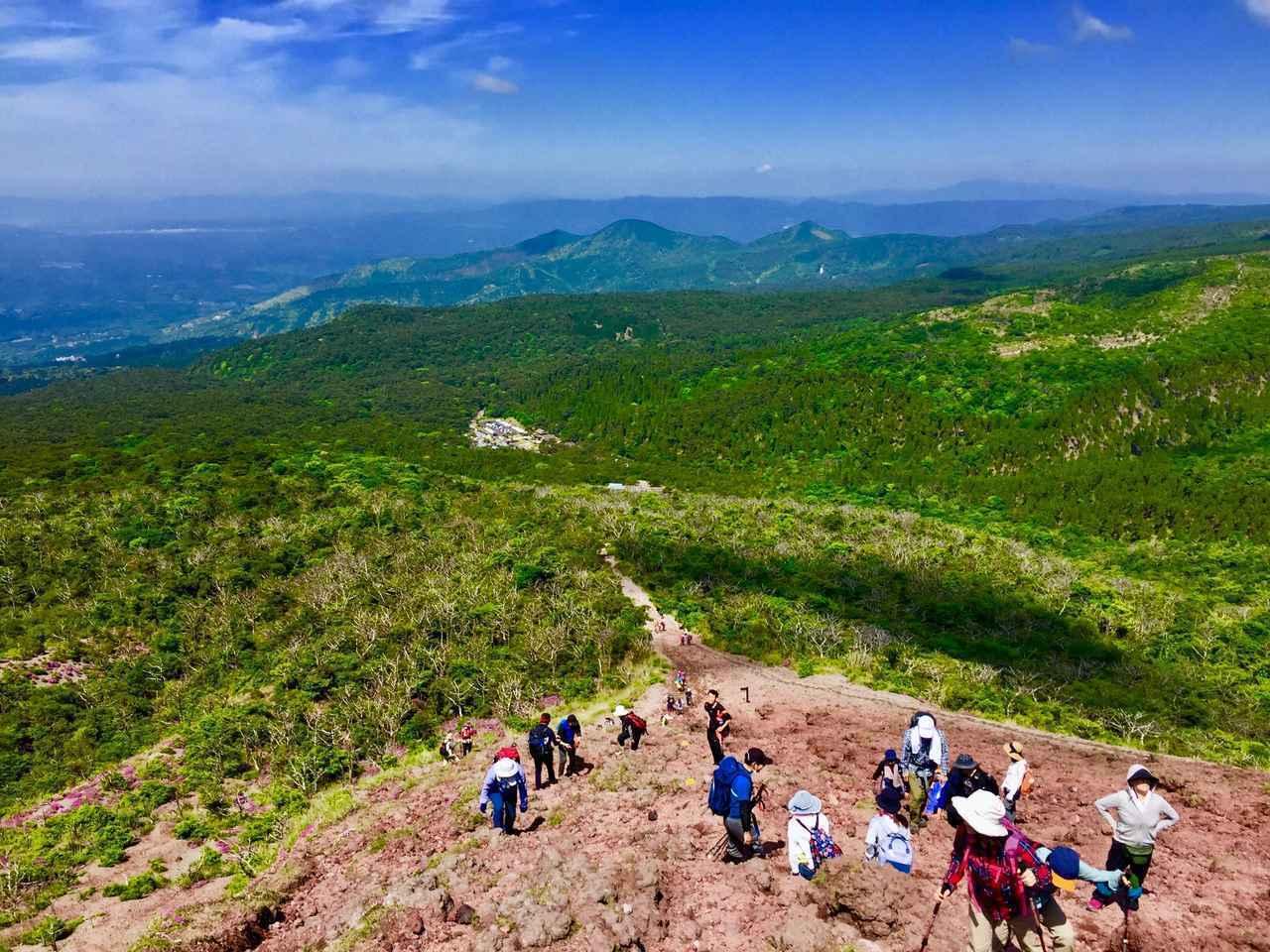 画像: 高千穂峰