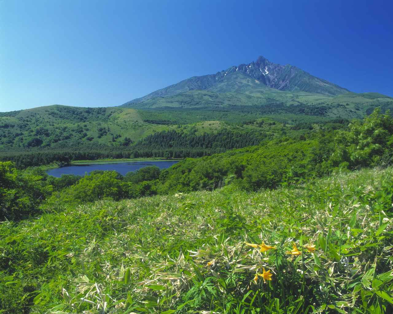 画像: 利尻山