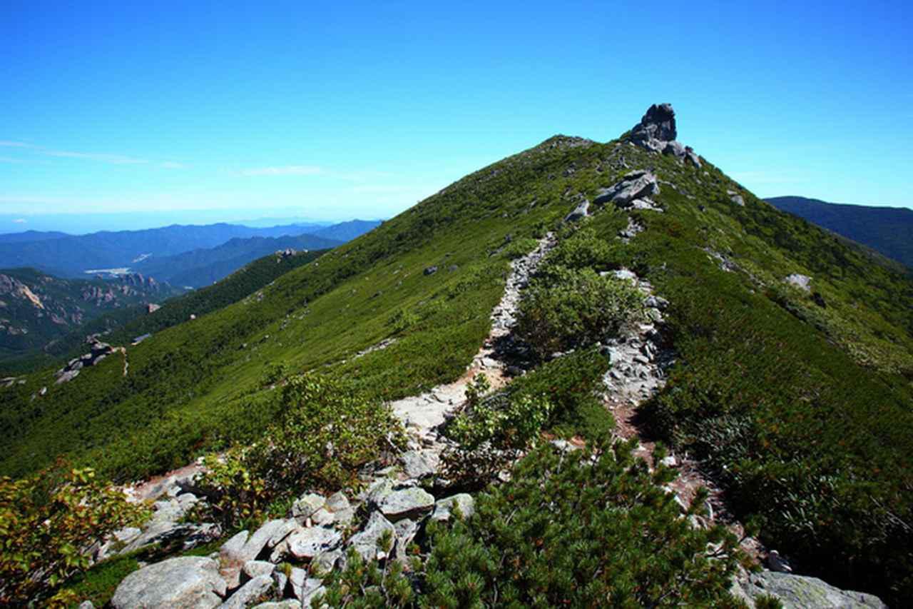 画像: 金峰山山頂