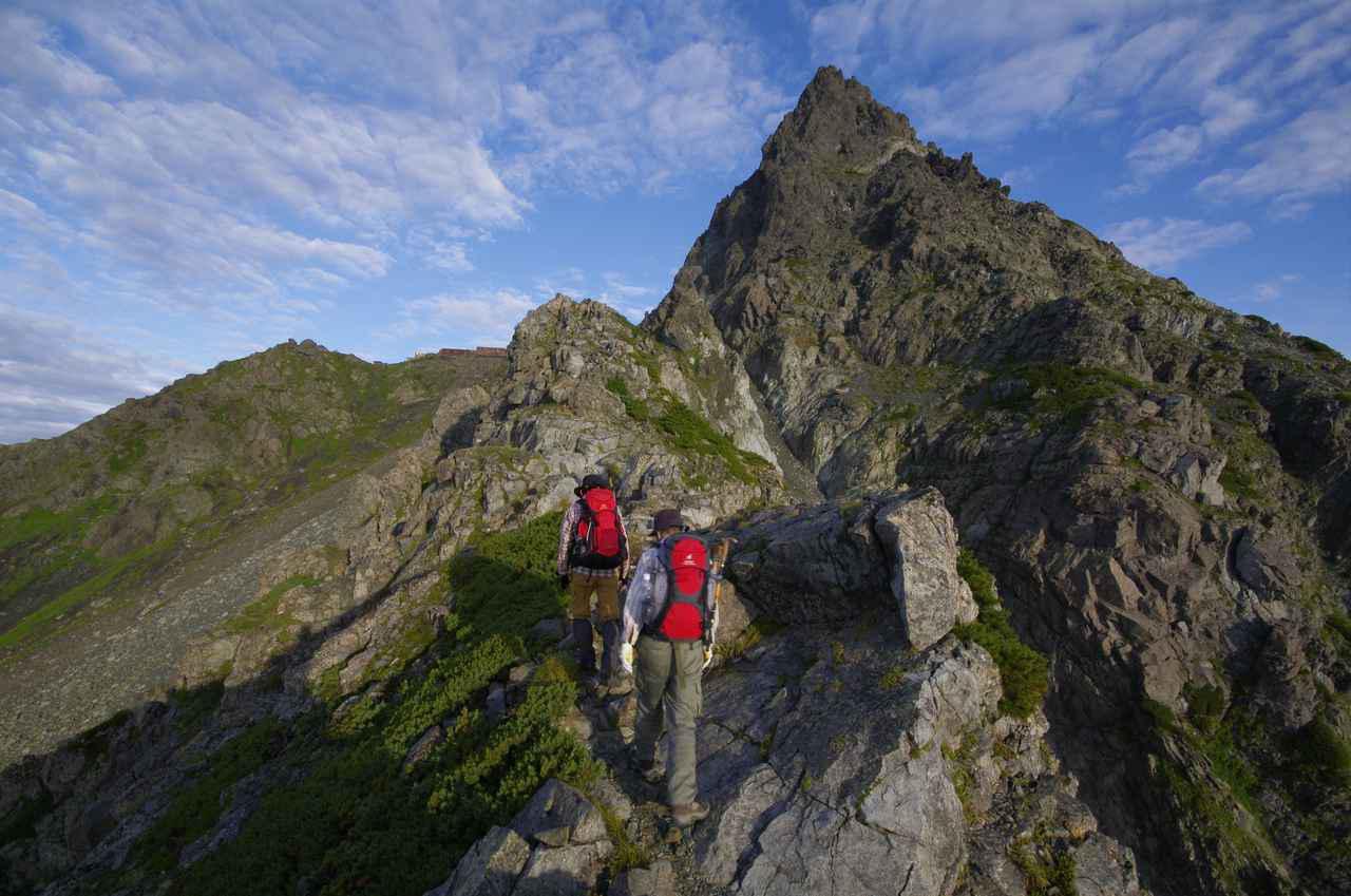 画像: 槍ヶ岳山頂へアタック!