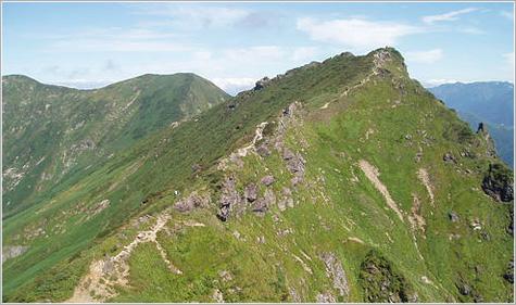 画像: 谷川岳(イメージ)