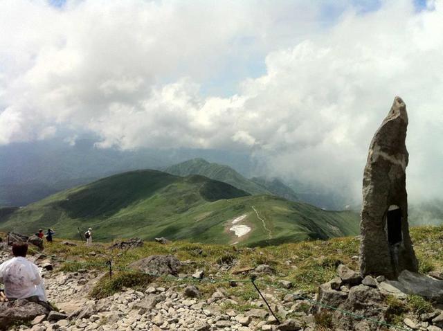 画像: 山頂付近からの景色
